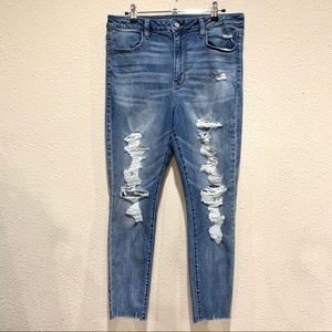 American Eagle Outfitters High Rise Legging Jeans